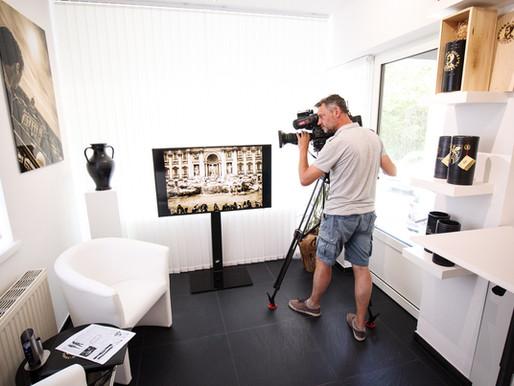 20.6.2018 - ORF zu Besuch in der neuen Galerie