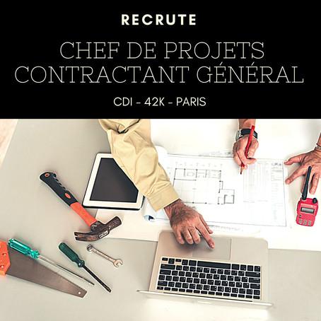 Chef de Projets - Contractant Général H/F