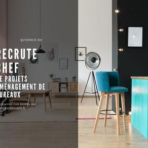 Un / Une Chef de projets aménagement de bureaux (H/F)
