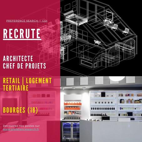 Un / Une Chef de projets architecture et retail