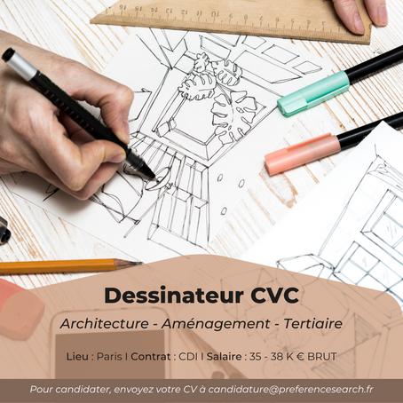 Dessinateur CVC (H/F)