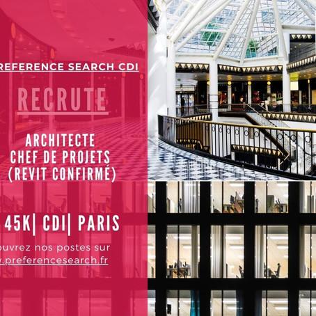 Architecte - Chef De Projet REVIT