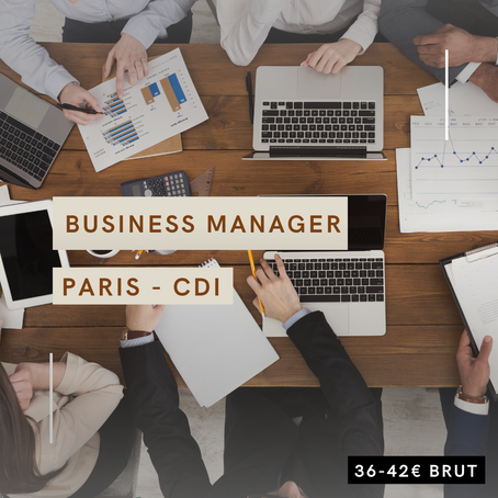 Business Manager (H/F)