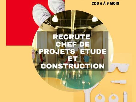 Un/Une Architecte Chef de projets déploiement de magasin (H/F)