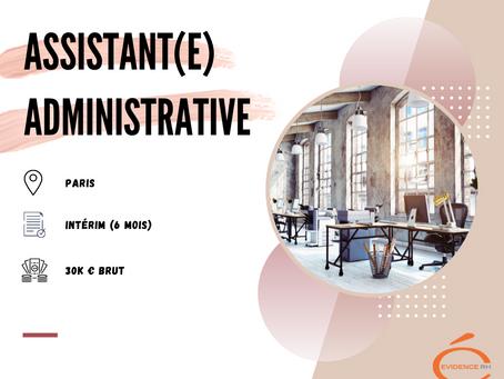Assistant. E administrative