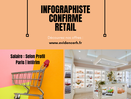 Infographiste Créa/Exé Confirmé Retail (H/F)