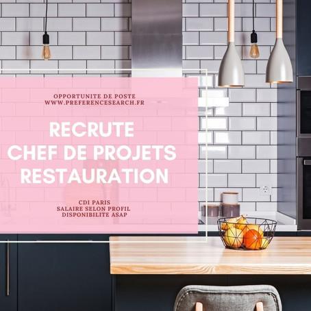 Un / Une Architecte - Chef de projets Restauration (H/F)