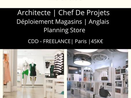 Chef De Projets Déploiement Enseigne - Anglais Opérationnel - Planning Store