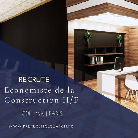 Un / Une Economiste de la Construction H/F