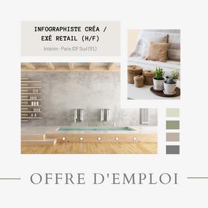 Infographiste Créa/Exé Retail (H/F)