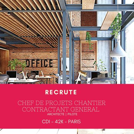 Chef de projets Chantier - Contractant General
