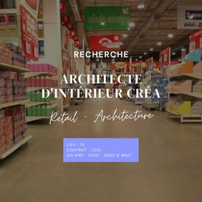 Architecte d'intérieur Créa (H/F)