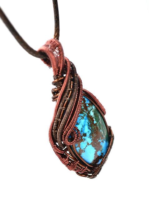 Pendentif Turquoise Magnésite