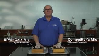 UPM® Cold Mix Product Comparison Video