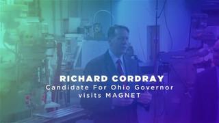 Richard Cordray Visits MAGNET Cleveland