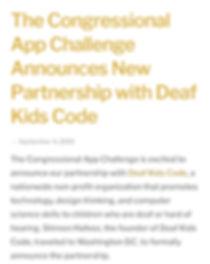 App Challenge text