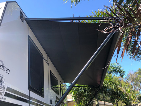 Awning Hack for Windy Days