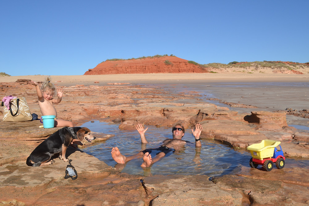 Dog Friendly Beach Camps Australia