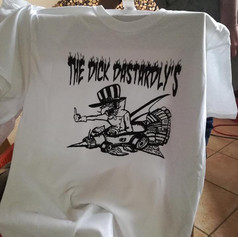 THE DICK DASTARDLY'S shirt