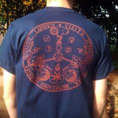 SAN LEO blue shirt - back