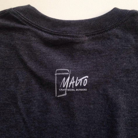 "Birreria ""MALTO"" tees and sweaters - back"