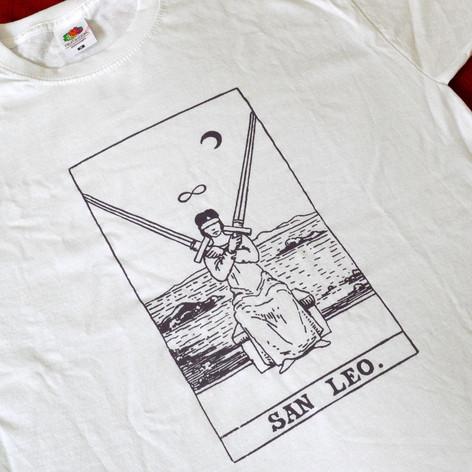 SAN LEO tarot shirt