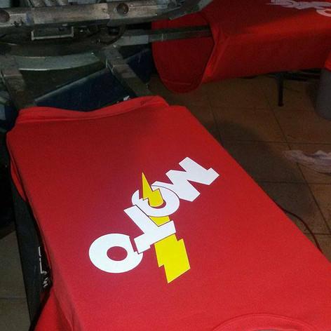 M.O.T.O. red shirt