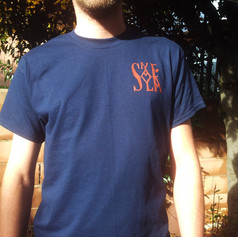 SAN LEO blue shirt - front