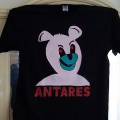 "ANTARES ""evil bear""  3 colours shirt"