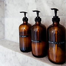 hair care and shower gel