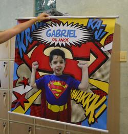 Banner Super Man Gabriel