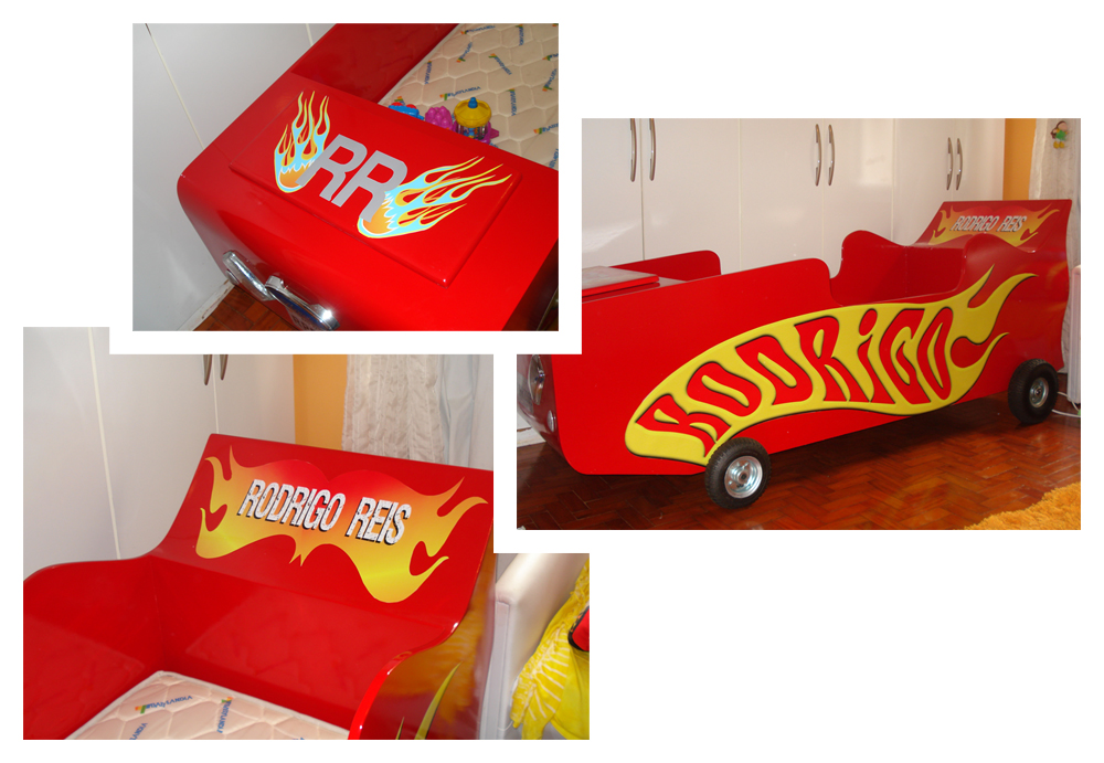 Cama hot wheels