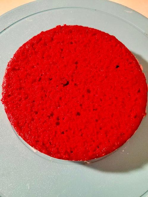 "Red Velvet Cake 4"" Round 3 Layers"