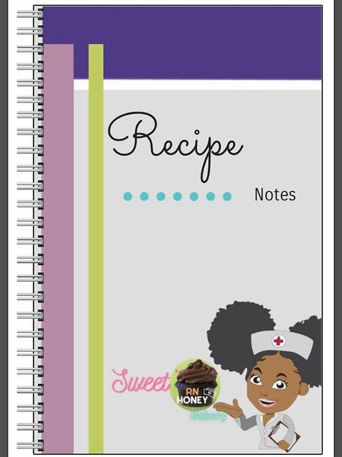 Recipe Notebook Gift Set
