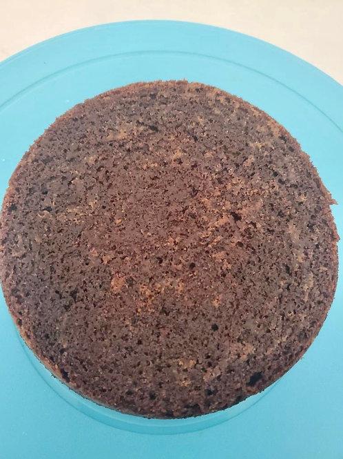 """Chocolate Cake 4"""" Round 3 Layer"""