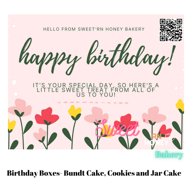 Birthday Bundt Boxes