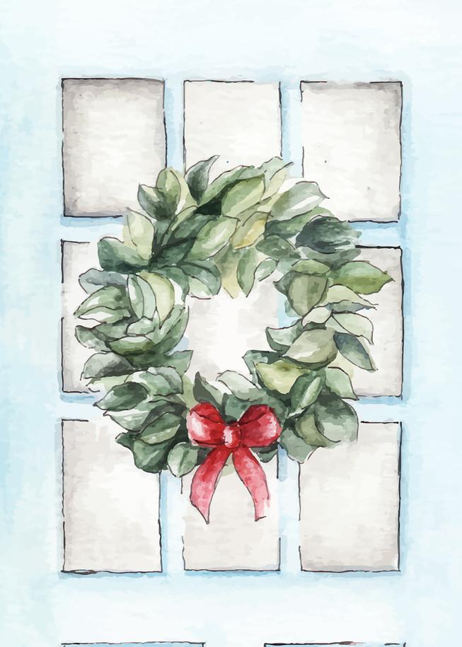 Front Door Holiday Card