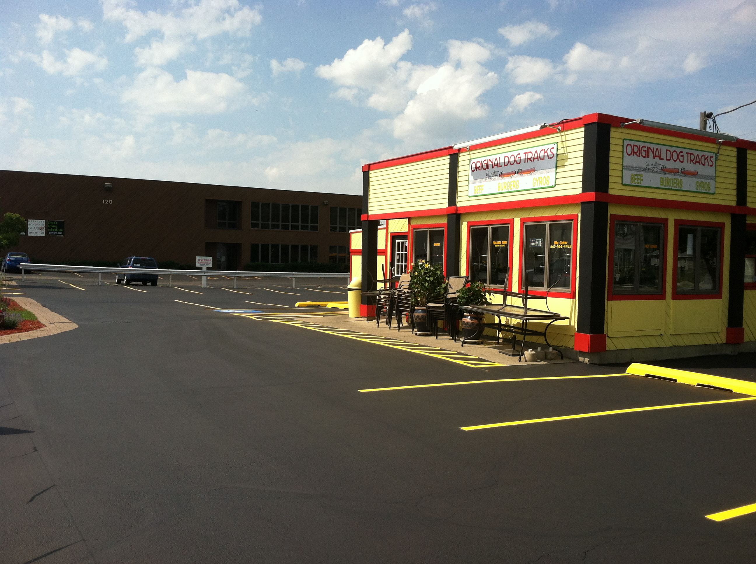 Commercial Striping Services