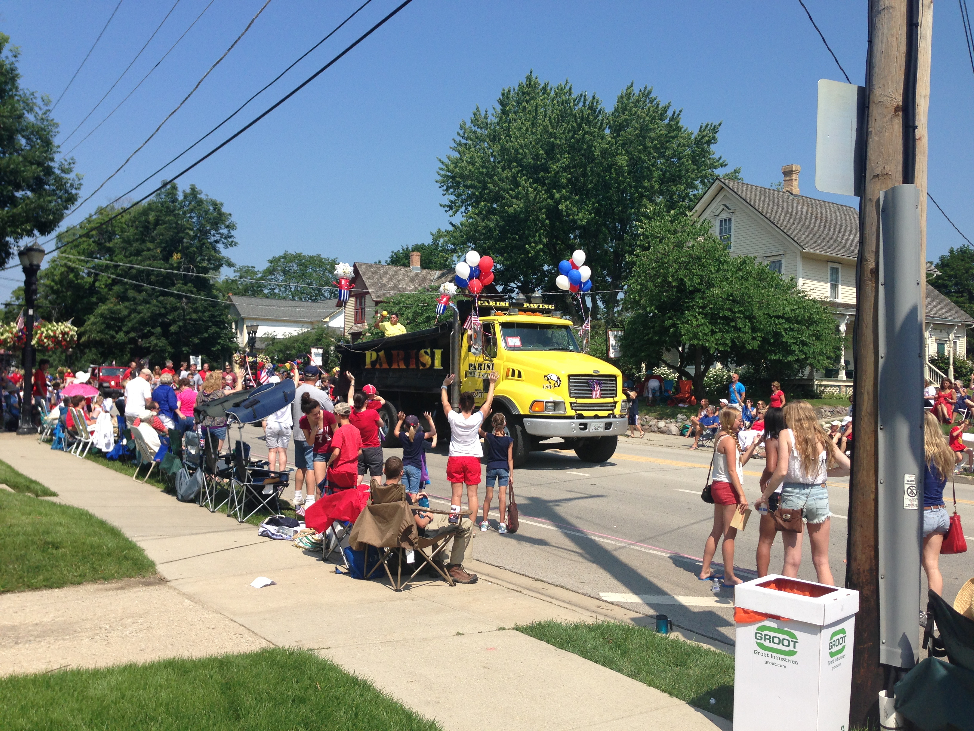 Parisi Paving & Seal Parade