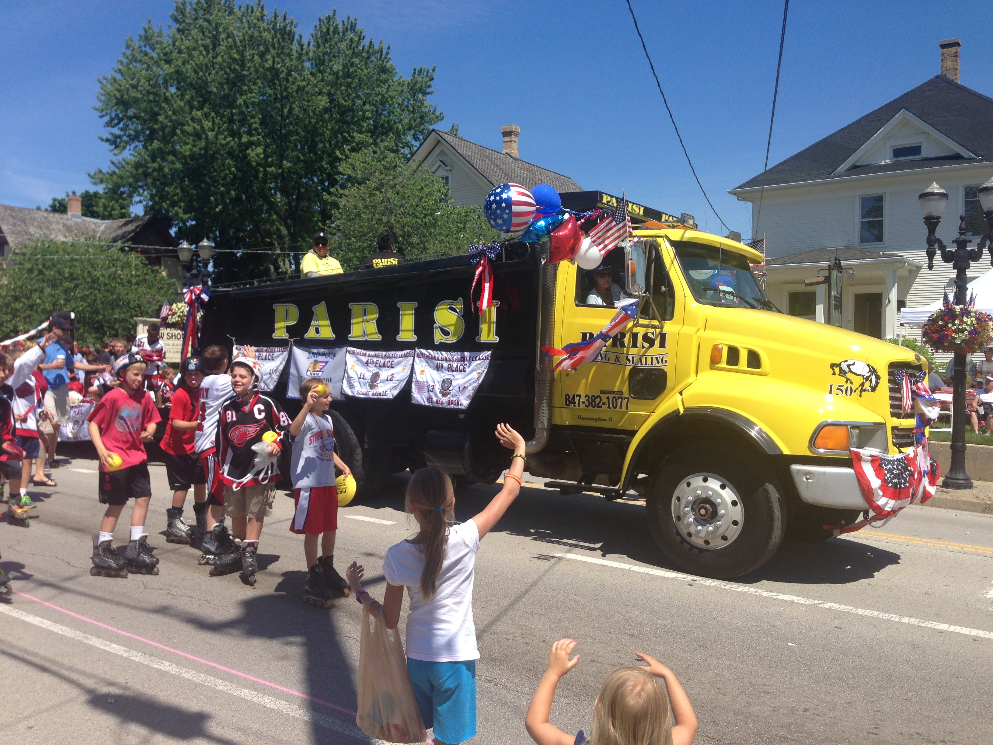 Community Involvement 4th Parade