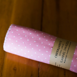 extra large flannel swaddle