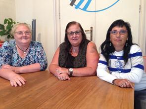 In Beweging: Mireille Ghys, Christine Jacobs en Connie de Bondt