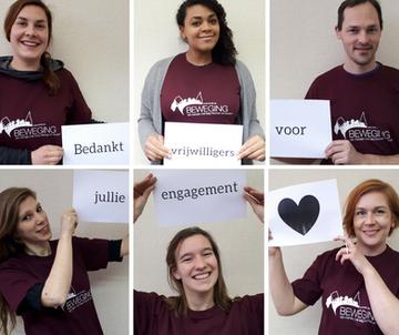 Jarige Beweging viert Week van de Vrijwilliger: 35 maal dank!