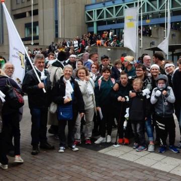 Grote BMLIK-delegatie op Hart boven Hard-manifestatie