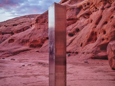 Mysterious Monolith Appears in Utah