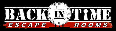 Back In Time Logo With Black Background.