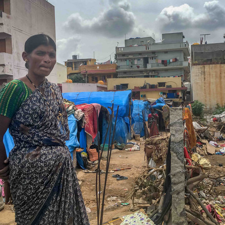 Socio-economic survey data from 36 slums
