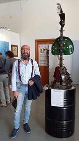 L'ARTISTA DI FERRO COLPISCE ANCORA...