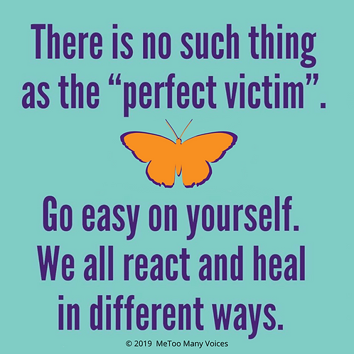 No Such Thing as a Perfect Victim Print