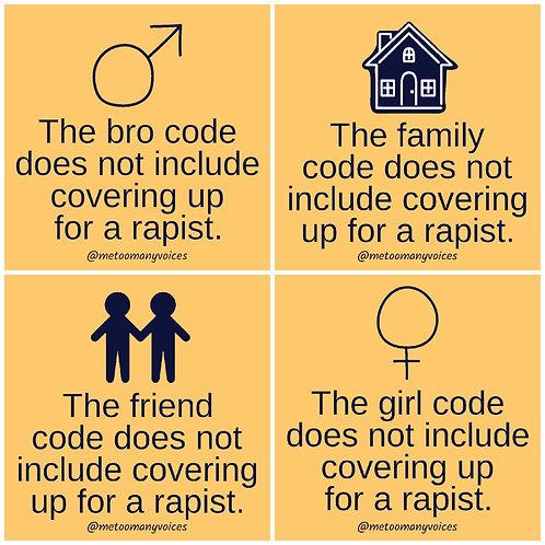 """4 Sticker Set - """"Code"""""""